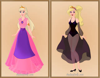 Dragons Lair Princess Daphne by roseprincessmitia