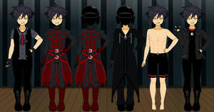 Vanitas Outfits by roseprincessmitia