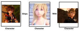 Sora ships Namine with Roxas