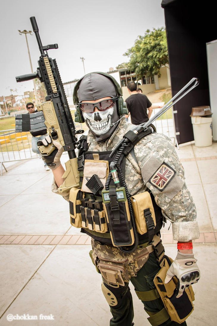 CoD Modern Warfare 2 GHOST - Cosplay by Wolverine9999 on DeviantArt