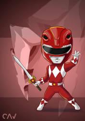 Red Ranger by RafaelCavalcanti