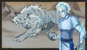 Xuen. The White Tiger.