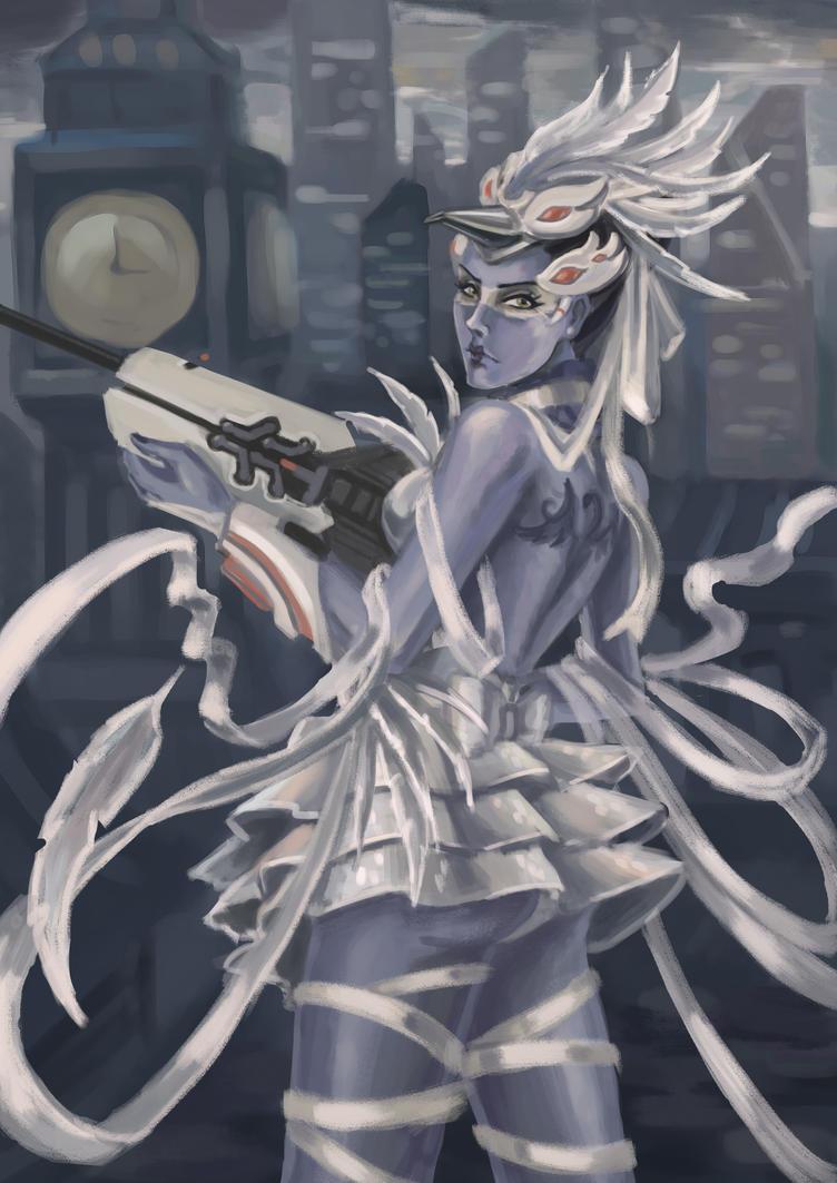 widowmaker. swan princess. by KamuiEini