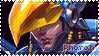 Overwatch Pharah Stamp by Ruxree