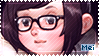 Overwatch Mei Stamp by Ru-x