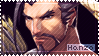 Overwatch Hanzo Stamp by Ru-x