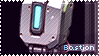 Overwatch Bastion Stamp by Ru-x