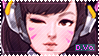 Overwatch D.Va Stamp by Ruxree