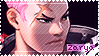 Overwatch Zarya Stamp by Ru-x
