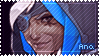 Overwatch Ana Stamp by Ru-x