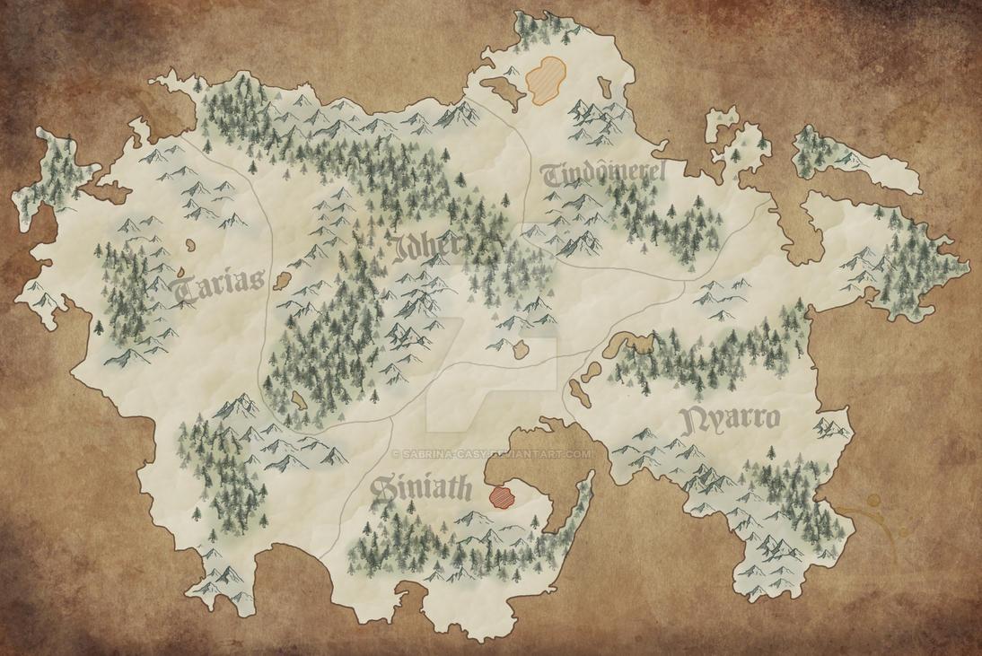 Landkarten Zwischenschritt 3 by Sabrina-Casy