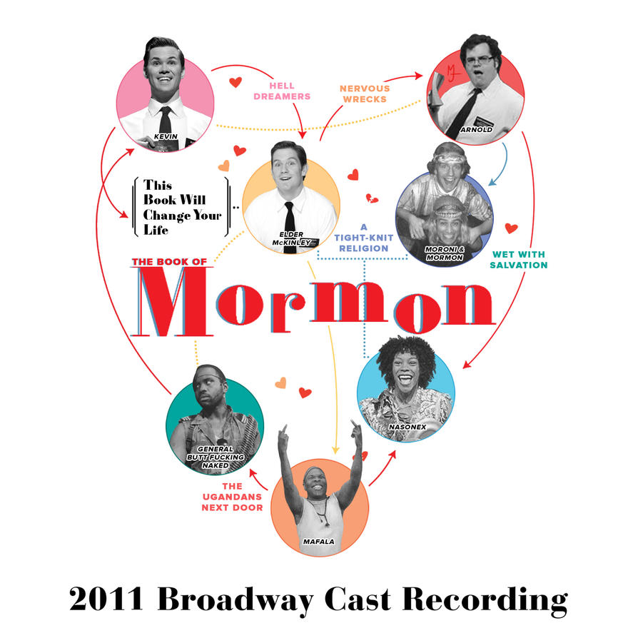 The Book of Mormon / Falsettos Crossover by Doctor-HooLock