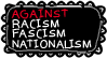 Against Racism, Fascism and Nationalism Stamp by ViolaAtDeviant