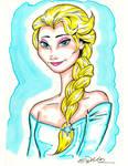 Princess Elsa - from Frozen