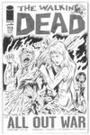 The Walking Dead - Original Art by Tim Estiloz