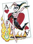 Harley Quinn - Original Art by Tim Estiloz