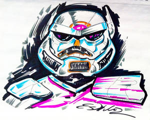 Star Wars Stormtrooper - Abstract