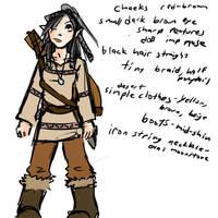 Pyrhia (sketch for sister dnd)