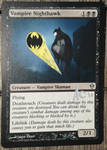 MtG Batman acrylic paint-over