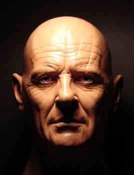 Anthony Hopkins head sculpt
