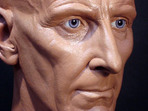 Peter Cushing  sculpt close by MR-BARLOW