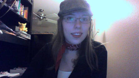 Me as the Rule 63!Nostalgia Critic by LadyinStumptown