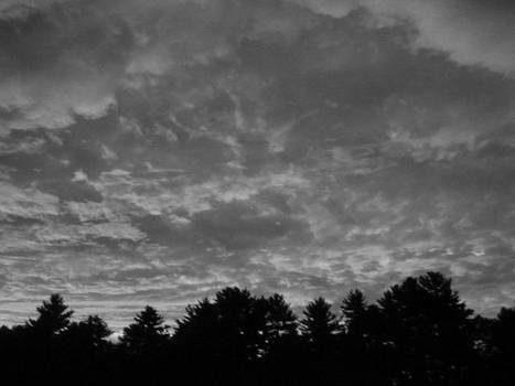 dark sky, dark day