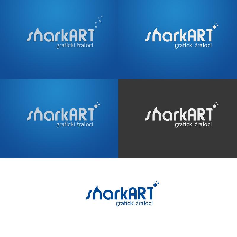 Sharkart LOGO design by semyk3