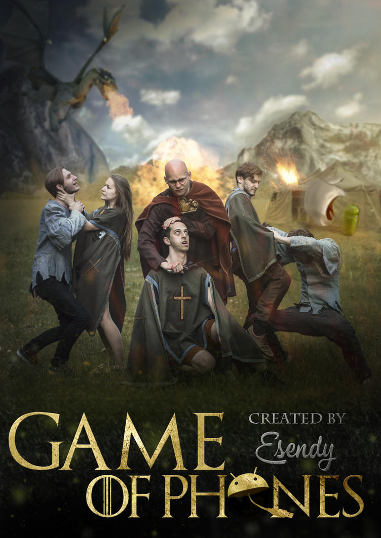 Game of thrones parody poster by semyk3