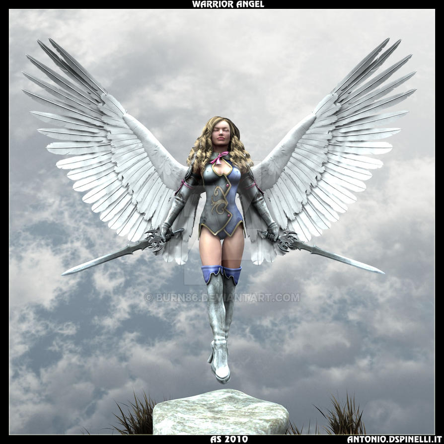 Warrior Angel by Burn86 on DeviantArt