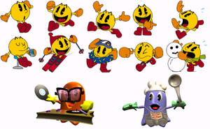 Pac-Man World Wallpaper by Ilovesonicandfriend