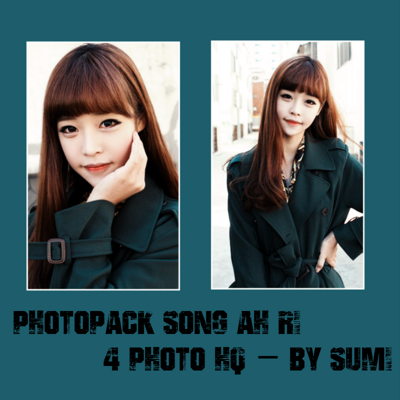 Photopack Song Ah Ri #4 - By Sumi by Nari2k1