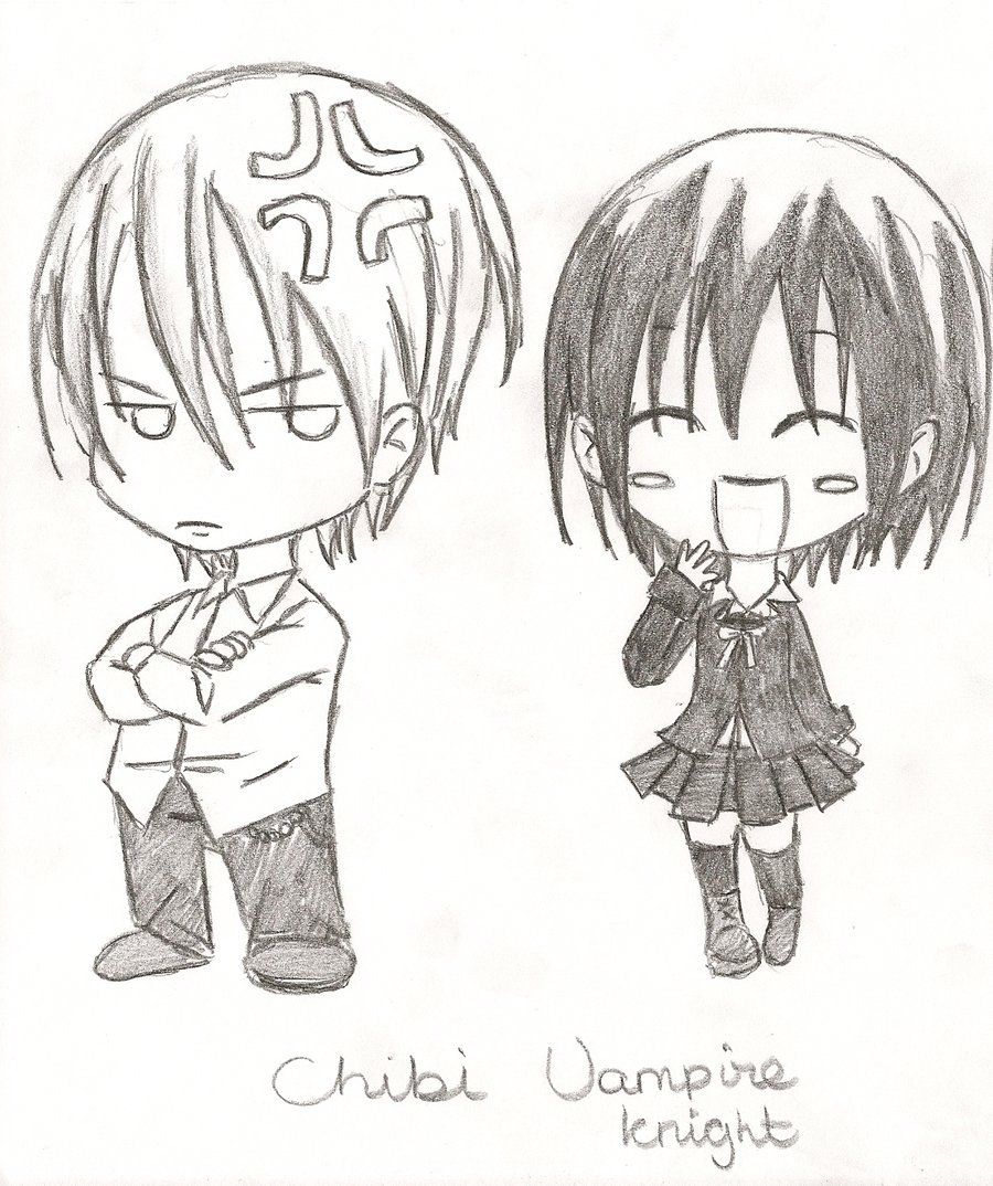 vampire knight chibi by sam emo girl - Anime Vampire Girl Coloring Pages