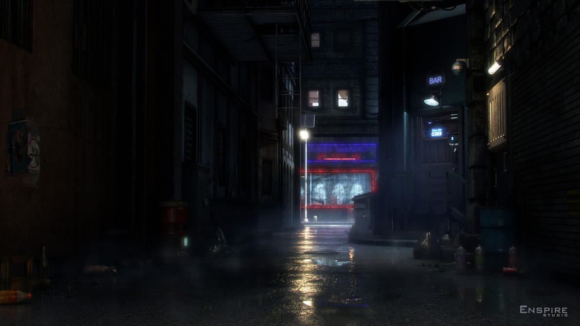 The Alley by zeal08