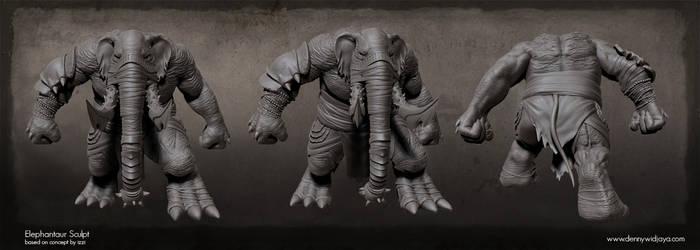 Elephantaur Sculpt