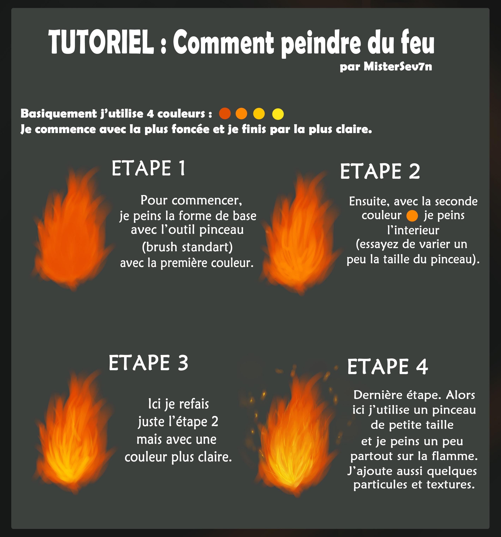 Tutoriel [FR]  Comment peindre du feu by MisterSev7n on
