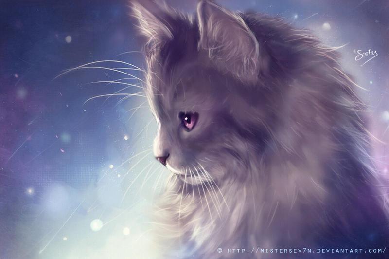 Kitten - Painting by MisterSev7n