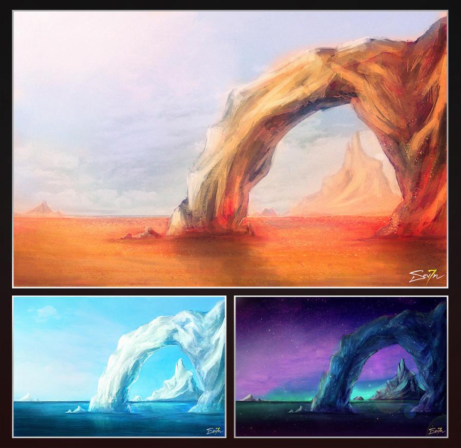 Iceberg study by MisterSev7n