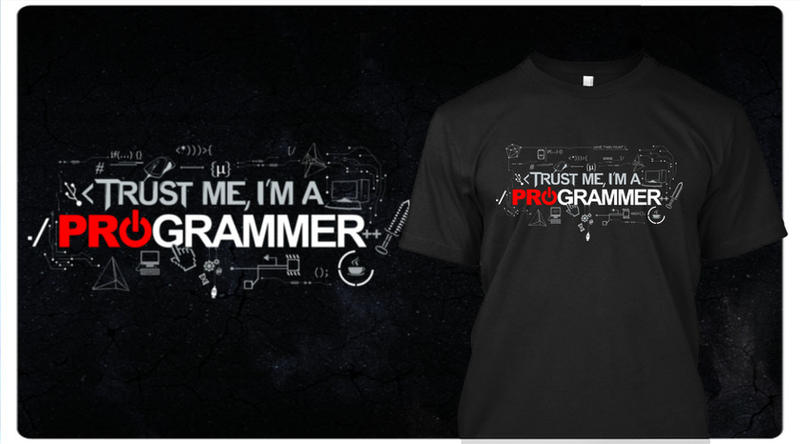 Trust Me, I am a Programmer by MisterSev7n