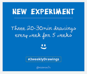 3 Weekly Drawings Challenge