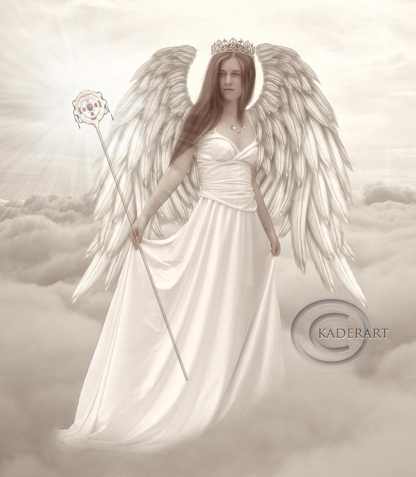 Angel of light by kaderart on deviantart