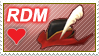 FFXI - Red Mage Stamp by dhkite
