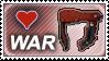 FFXI - Warrior Stamp by dhkite