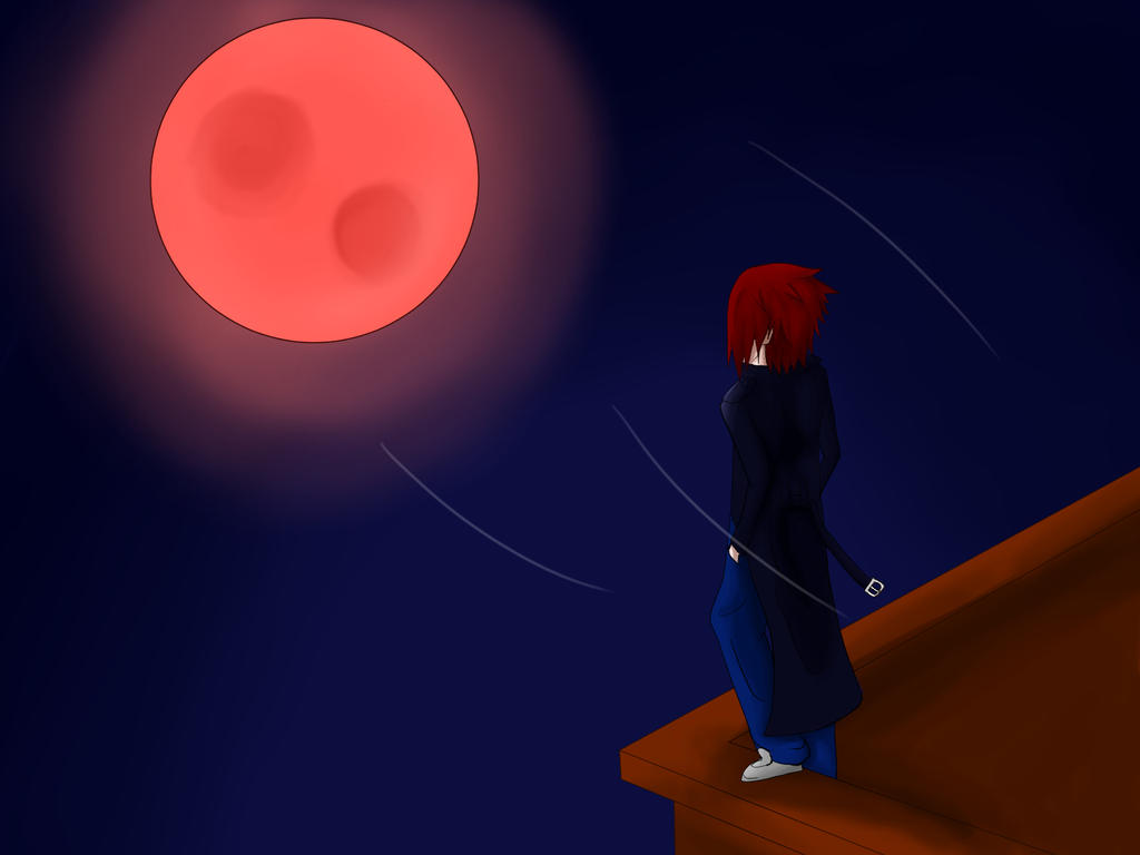Lance on the Roof and The Bloodmoon by JoordyPol