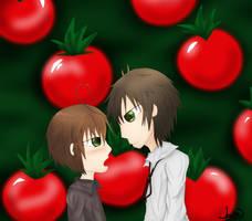 Tomato love by suzune-chi