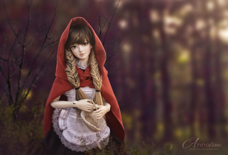 Mei is Red Riding Hood for the Fairy Tales contest by Anna-line