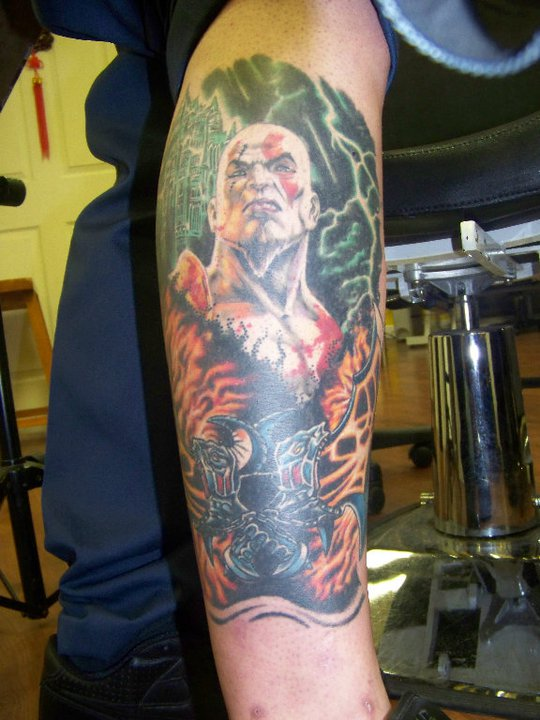 Kratos Sleeve By His Highness High On Deviantart