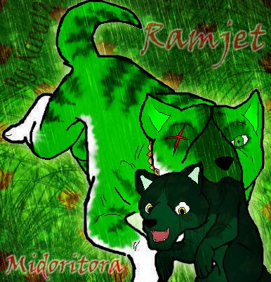 Fan-arts de Karu - Página 4 Ramjet_and_midoritora_by_karu12-d4uxpjl