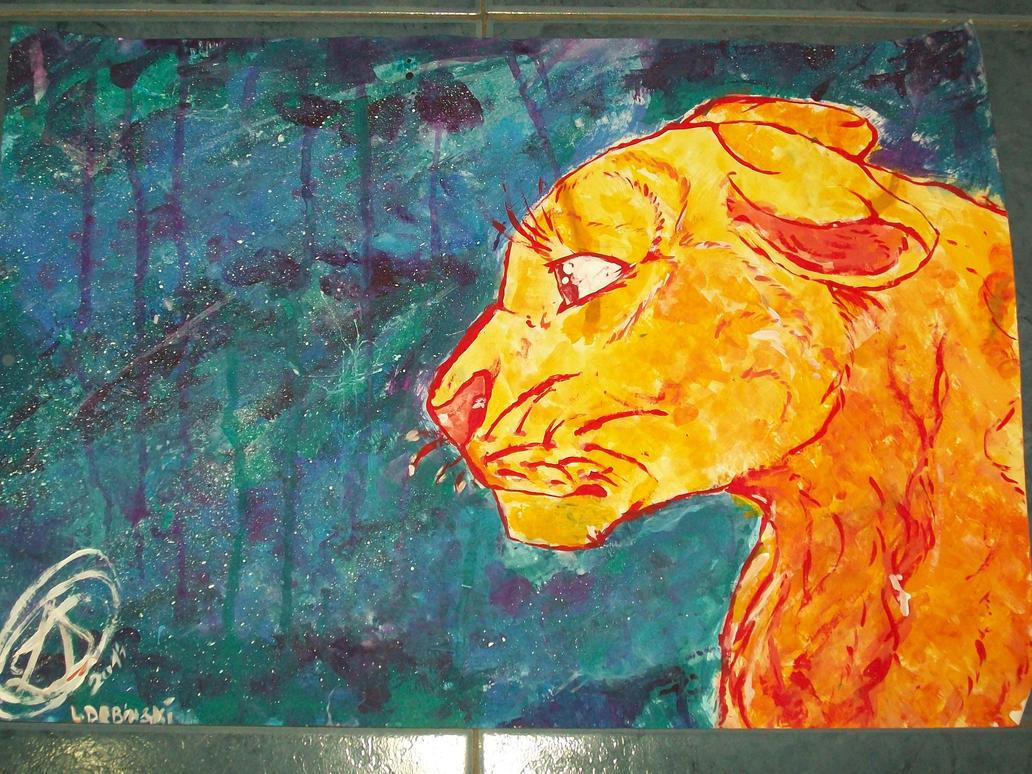Lioness in adversity by Karu12