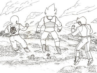 Revival of F: Team Three Star by Juju-Bug